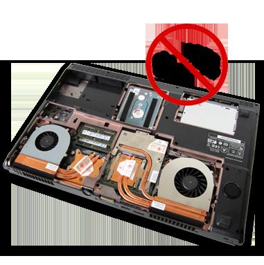 CLEVO W650RZ1 - Ordinateur portable très silencieux - Système de refroidissement - CLEVO