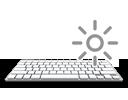 CLEVO - Ordinateur portable DURABOOK S15AB avec clavier pavé numérique intégré et clavier rétro-éclairé