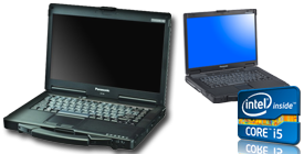 Portable Toughbook CF-53MK4 Tactile avec linux assemblé sur mesure - Distributeur Toughbook